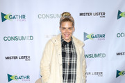 Busy Philipps Fur Coat
