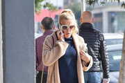 Busy Philipps Shawl-Collar Cardigan