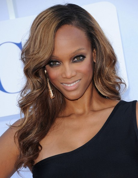 More Pics of Tyra Banks Smoky Eyes (2 of 19) - Tyra Banks Lookbook - StyleBistro
