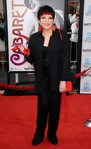 Liza Minnelli stepped out at the 'Cabaret' premiere wearing a sequined jumpsuit.