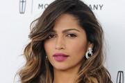Camila Alves Berry Lipstick