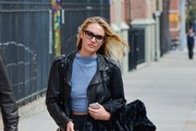 Candice Swanepoel Leather Jacket