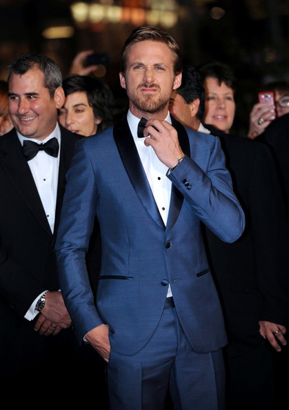 Ryan Gosling Blue Suit