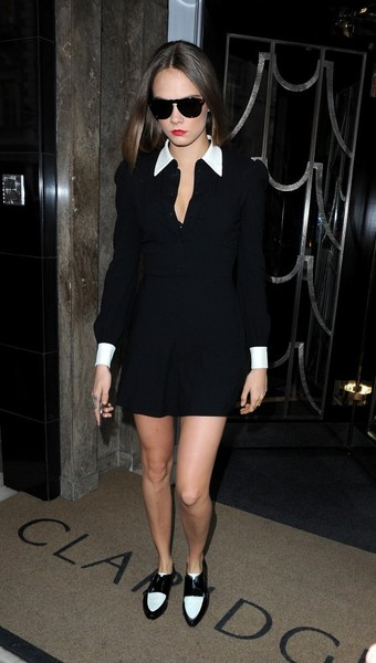 Cara Delevingne Shirtdress