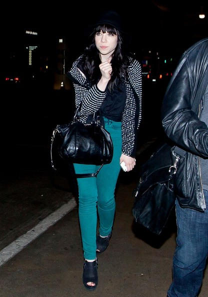 Carly Rae Jepsen Tweed Jacket