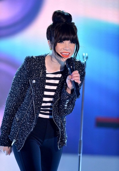 More Pics of Carly Rae Jepsen Motorcycle Jacket (4 of 30) - Carly Rae Jepsen Lookbook - StyleBistro