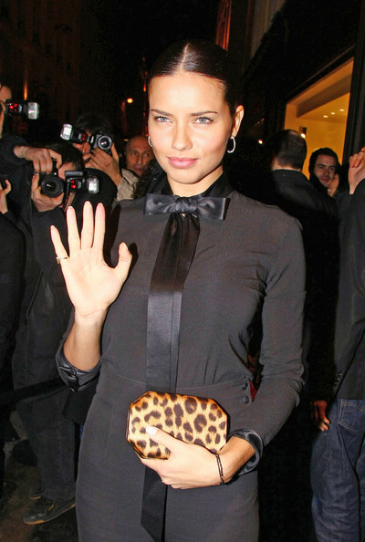 More Pics of Adriana Lima Printed Clutch (1 of 1) - Adriana Lima Lookbook - StyleBistro