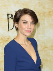 Lauren Cohan kept it relaxed with this short 'do at the premiere of 'The Boy.'