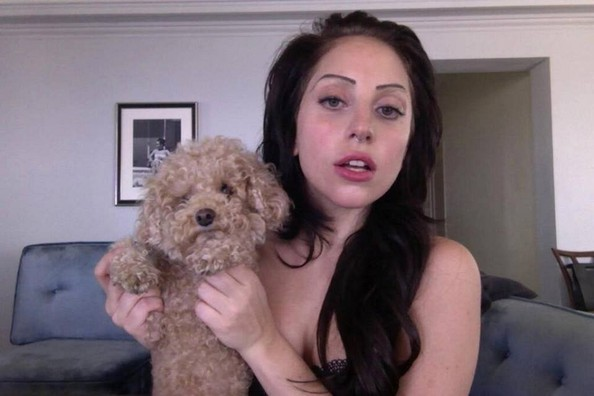 Lady Gaga Shows Off Her Adorable Poodle