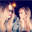Khloe and Kim Kardashian Look Like Rockstars