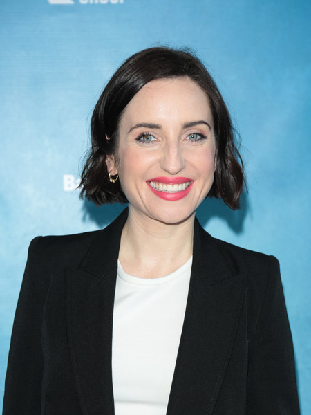 More Pics of Zoe Lister Jones Short Wavy Cut (1 of 4) - Short Hairstyles Lookbook - StyleBistro []
