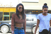 Chanel Iman Ripped Jeans