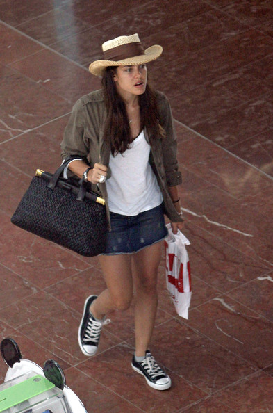 Charlotte Casiraghi Canvas Sneakers