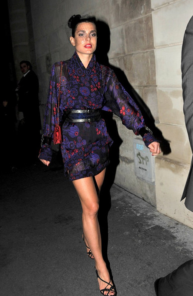 Charlotte Casiraghi Wrap Dress