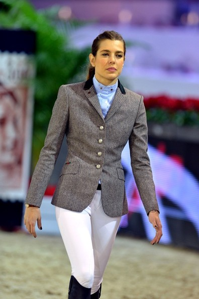 Charlotte Casiraghi Fitted Jacket []