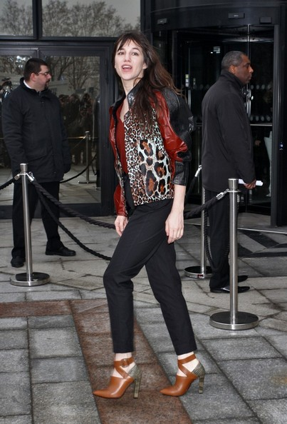 Charlotte Gainsbourg Shoes