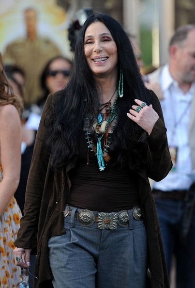 Cher Metallic Belt