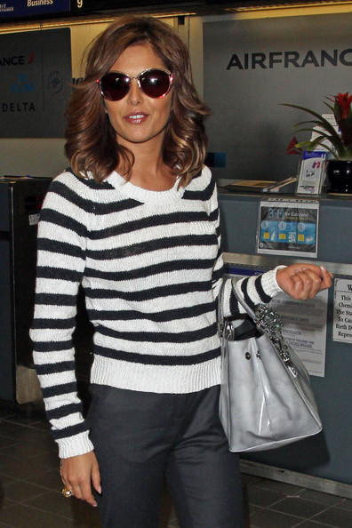 More Pics of Cheryl Cole Round Sunglasses (1 of 9) - Cheryl Cole Lookbook - StyleBistro