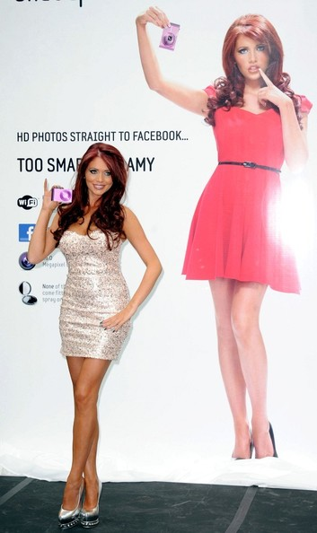 More Pics of Amy Childs Dark Nail Polish (1 of 7) - Amy Childs Lookbook - StyleBistro