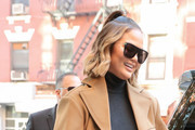 Chrissy Teigen Designer Shield Sunglasses