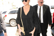 Chrissy Teigen Tasseled Shoulder Bag