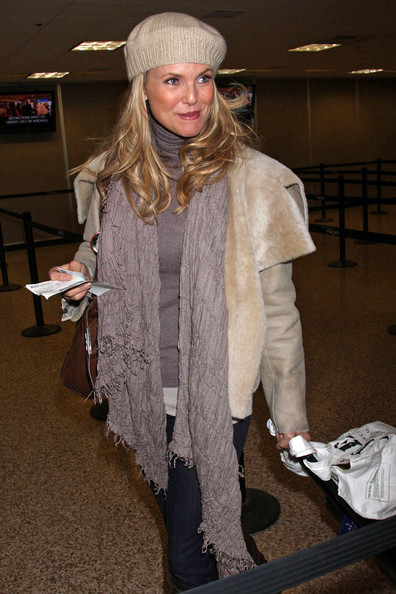 Christie Brinkley Knit Scarf