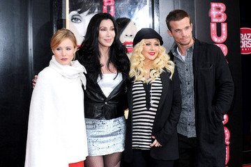 Christina Aguilera Cam Gigandet 'Burlesque' Photocall in Paris