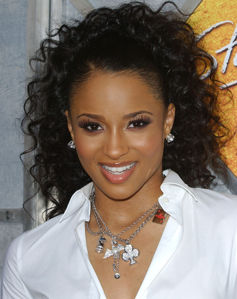 Ciara Ponytail - Ciara Long Hairstyles Looks - StyleBistro