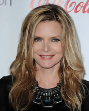 That gemstone collar necklace was a stunning finish to Michelle Pfeiffer's look during the 2012 CinemaCon Awards.