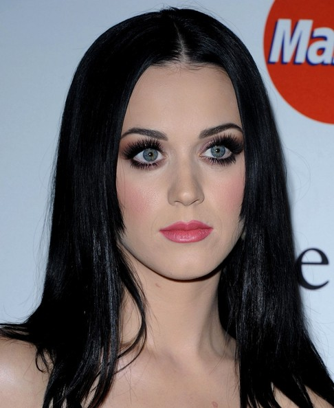 More Pics of Katy Perry Long Straight Cut (4 of 14) - Katy Perry Lookbook - StyleBistro []