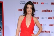Cobie Smulders Halter Dress