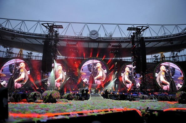 Coldplay Performs in London
