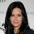 Courteney Cox's Long Straight Cut