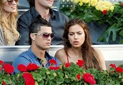 Cristiano accessorized his outfit at the Madrid Masters with silver-rimmed aviators.