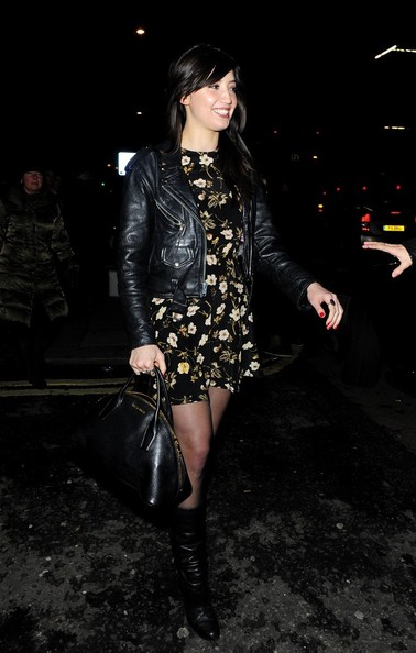 Daisy Lowe Leather Bowler Bag []