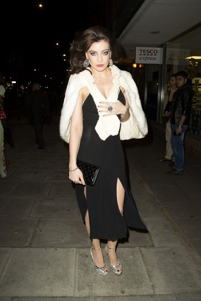 Daisy Lowe Little Black Dress []