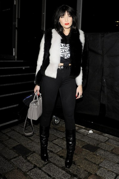 Daisy Lowe Leather Tote []