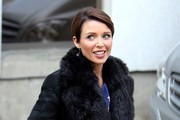 Dannii Minogue Fur Coat