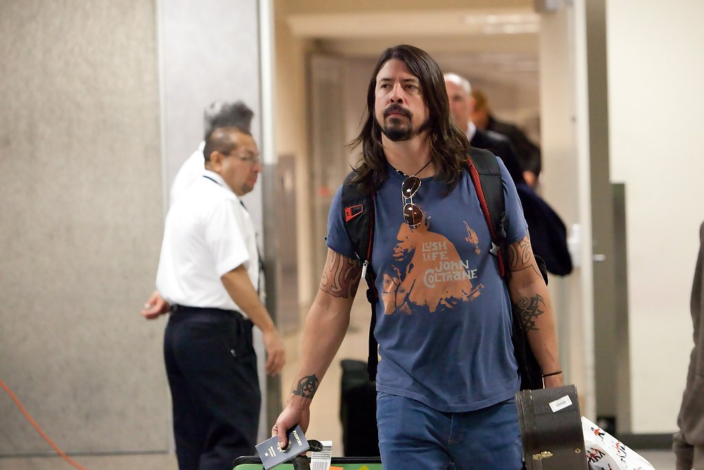 Dave Grohl Artistic Design Tattoo Looks