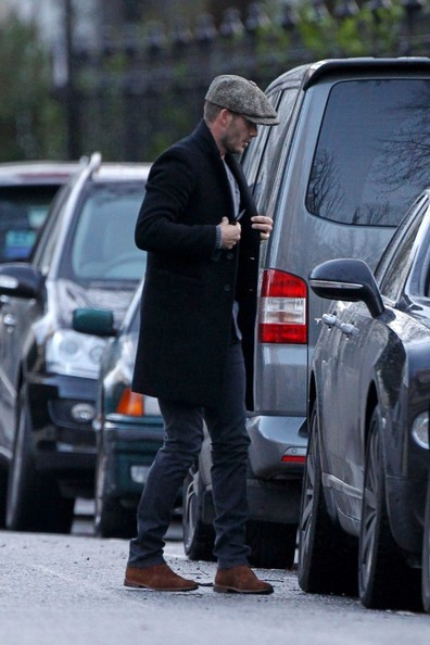 David Beckham Spotted in London 2