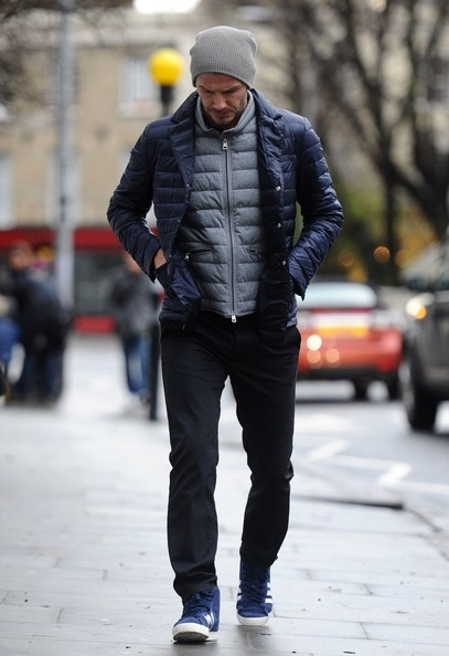 More Pics of David Beckham Puffa Jacket (3 of 10) - David Beckham Lookbook - StyleBistro