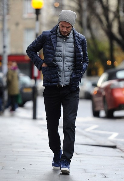 More Pics of David Beckham Puffa Jacket (5 of 10) - David Beckham Lookbook - StyleBistro