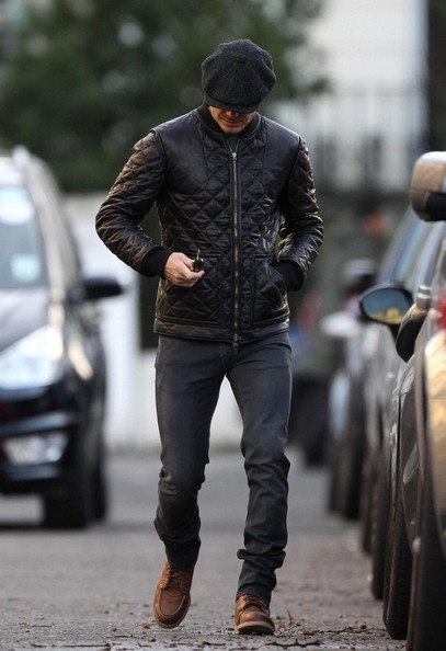 More Pics of David Beckham Newsboy Cap (4 of 17) - David Beckham Lookbook - StyleBistro
