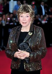 Shirley MacLaine was a real superstar in her sequined blazer.