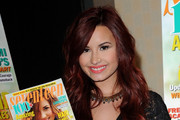 Demi Lovato's Pretty Coral-Pink Lipstick at a 'Seventeen' Cover Signing