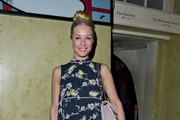 Denise van Outen Print Dress