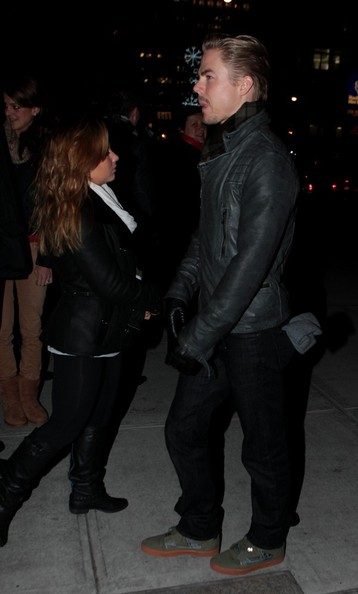 Derek Hough and Shawn Johnson Out in NYC