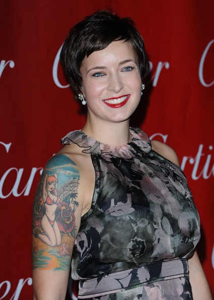 Diablo Cody Portrait Tattoo