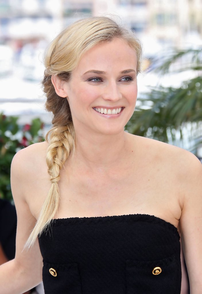 Diane Kruger Ponytail Hair Looks