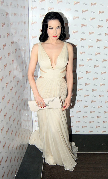 Dita Von Teese Cutout Dress
